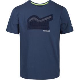 Regatta Breezed T-Shirt Men dark denim